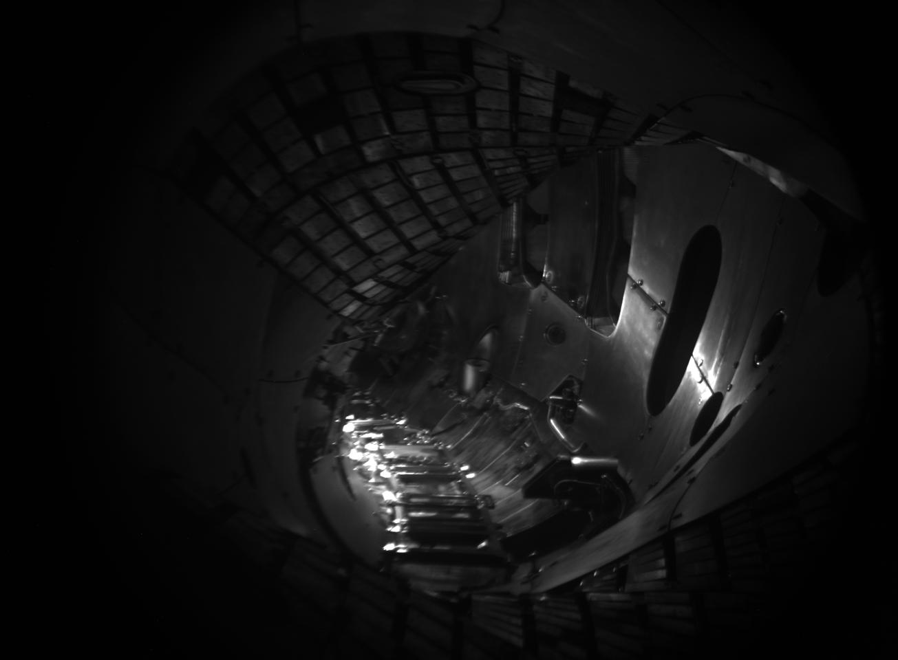 The empty plasma vessel inside Wendelstein 7-X