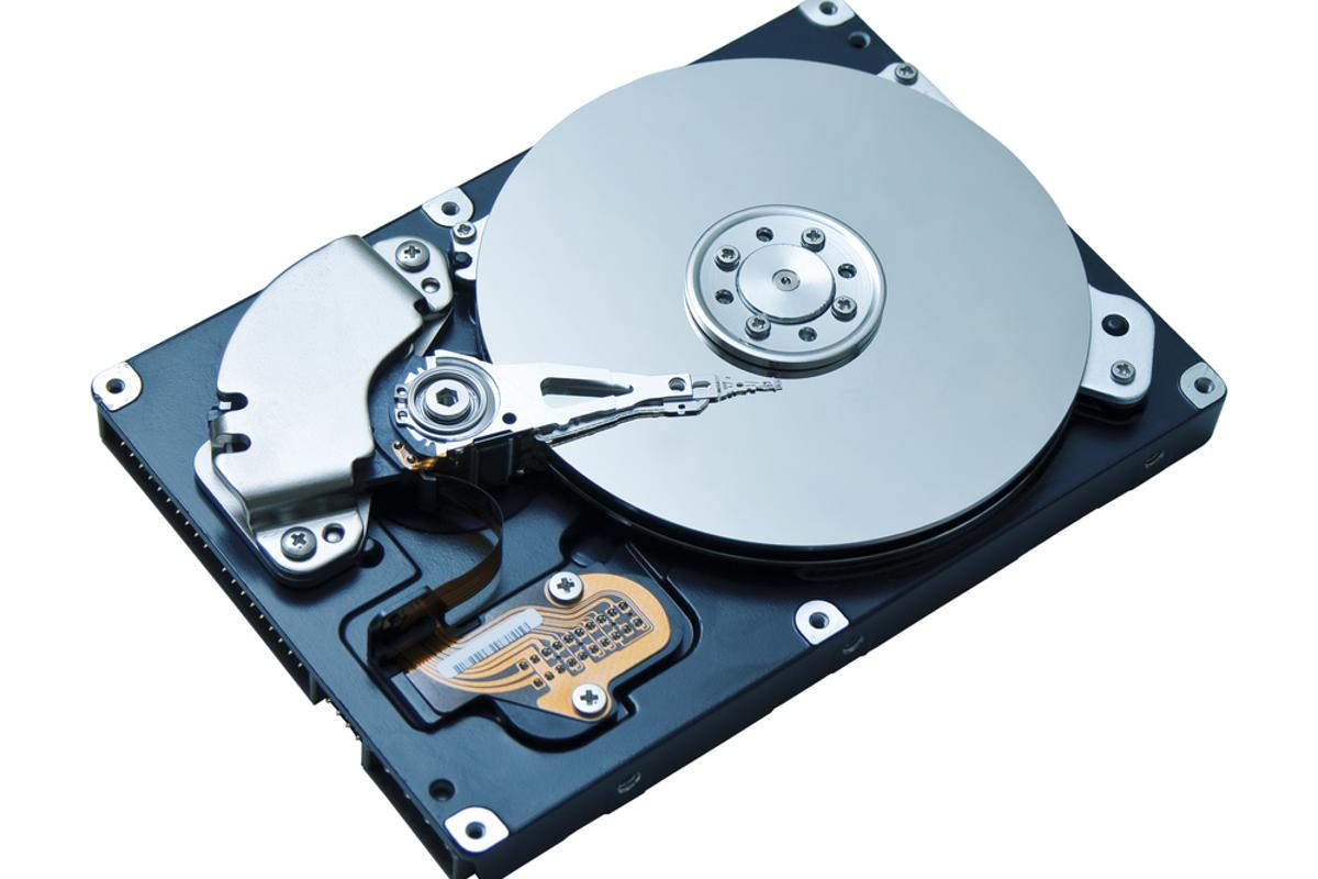 A new breakthrough could dramatically boost hard disk capacity (Photo: Vitaly Korovin/Shuttestock)