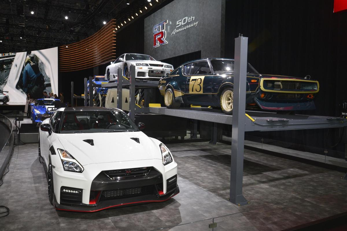 Nissan debuts the 2020 GT-RNismo