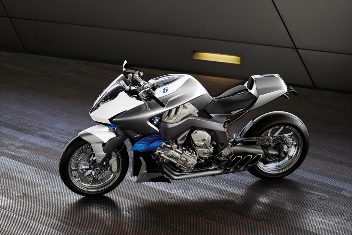 BMW brings back the six-cylinder motorcycle with its hottest