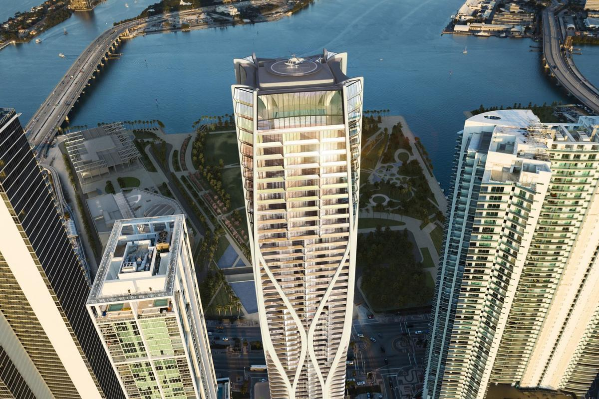 """One Thousand Museum will boast only 83 """"Six Star"""" luxury residences in the entire tower"""