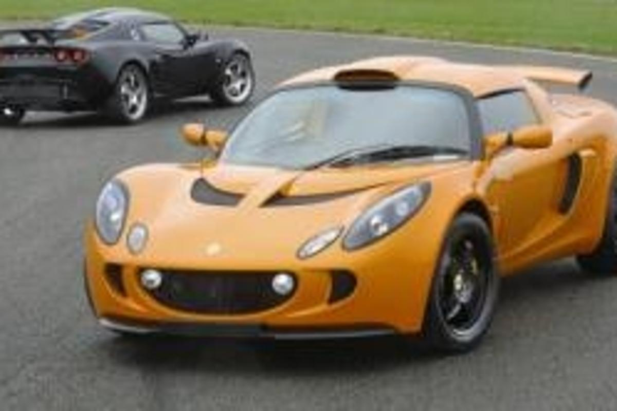 The Lotus Exige Sport 240, available only in Australia.