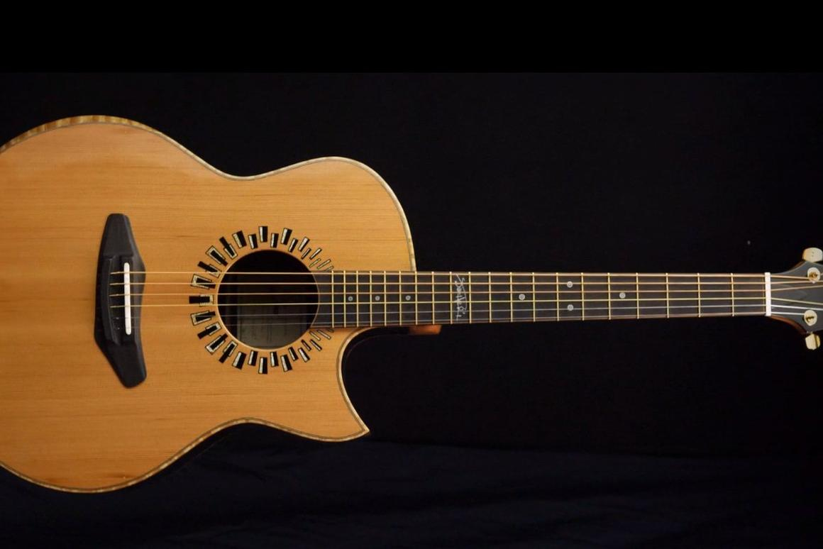 The Harmonic HendrixHome Guitars are limited to just 10 models