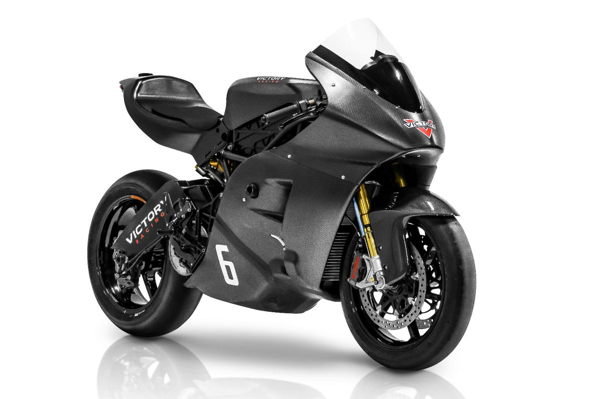 Aiming higher than last year's third place finish, Victory's RR electric superbike comes to the 2016 TT Zero with the highest nominal horsepower in its class