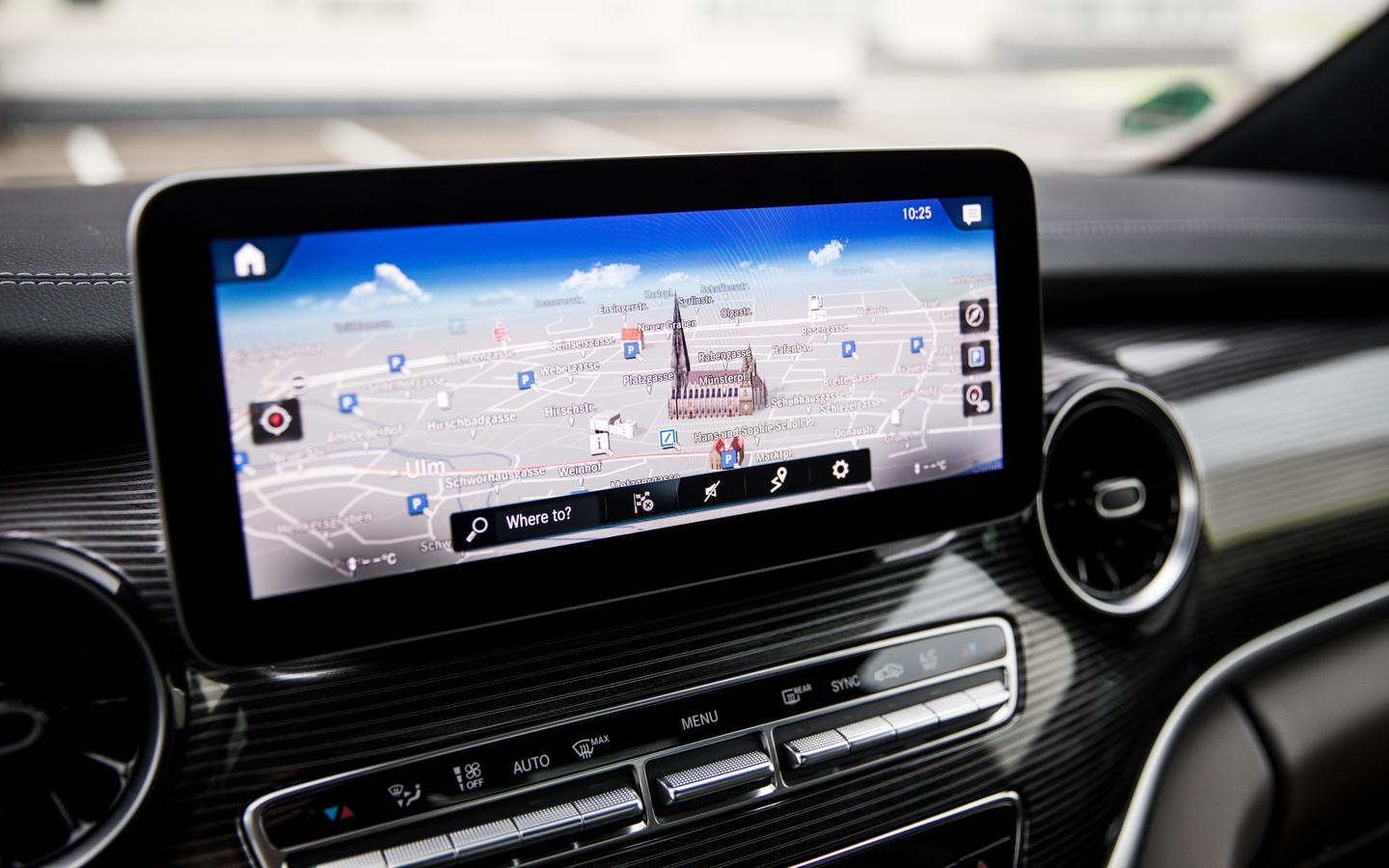 The MBUX infotainment system is now available in the V-Class van and Marco Polo and Marco Polo Horizon camper vans, offering voice control of certain vehicle and infotainment settings and control of camper van features