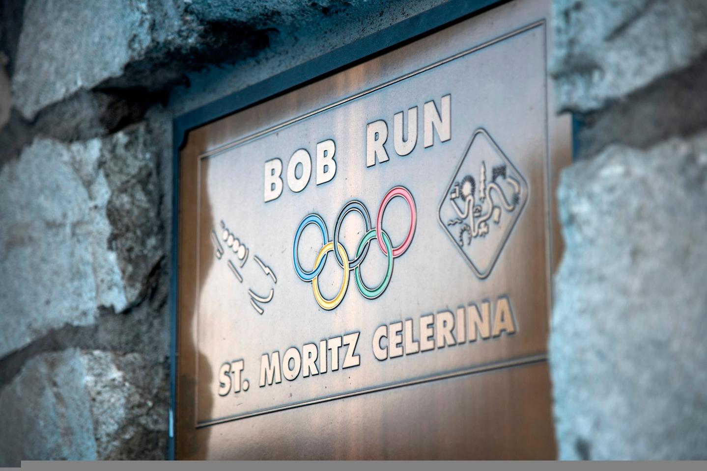 Subaru and Mark Higgins took on the bobsled run in St. Moritz