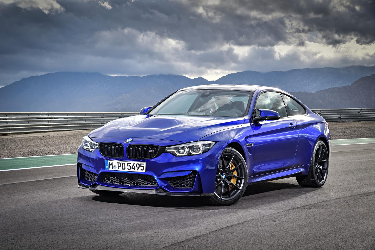 The new BMW M4 CS, launched in Shanghai