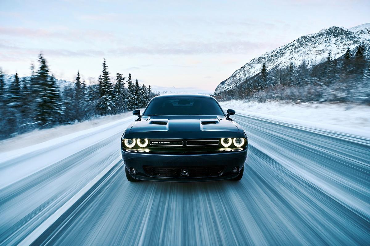 Despite showing a concept with a Hemi V8 under the hood in Las Vegas, the real Challenger GT will only be available with a 305 hp V6