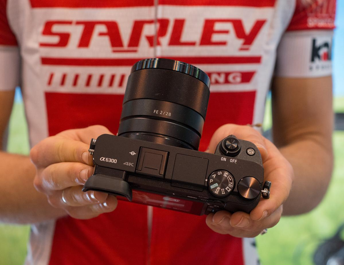 We take the Sony A6300 mirrorless camera for a quick spin