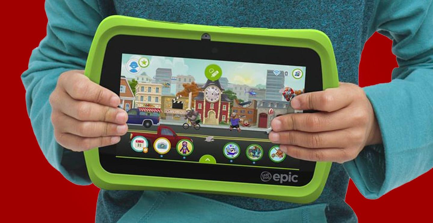 The LeapFrog Epic is a kid-specific tablet with access to Android apps