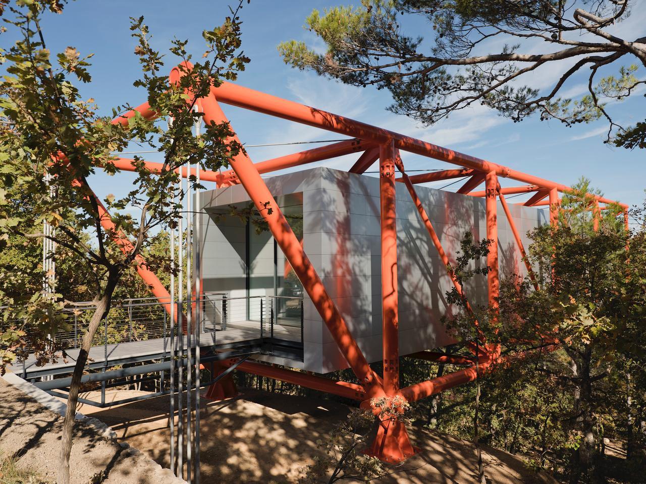 Richard Rogers의 드로잉 갤러리는 2011 년에 처음 구상되어 2020 년 말에 완성되었습니다.