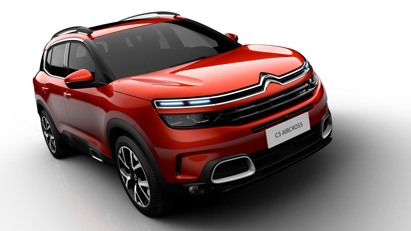 The C5 Aircross debuted in Shanghai