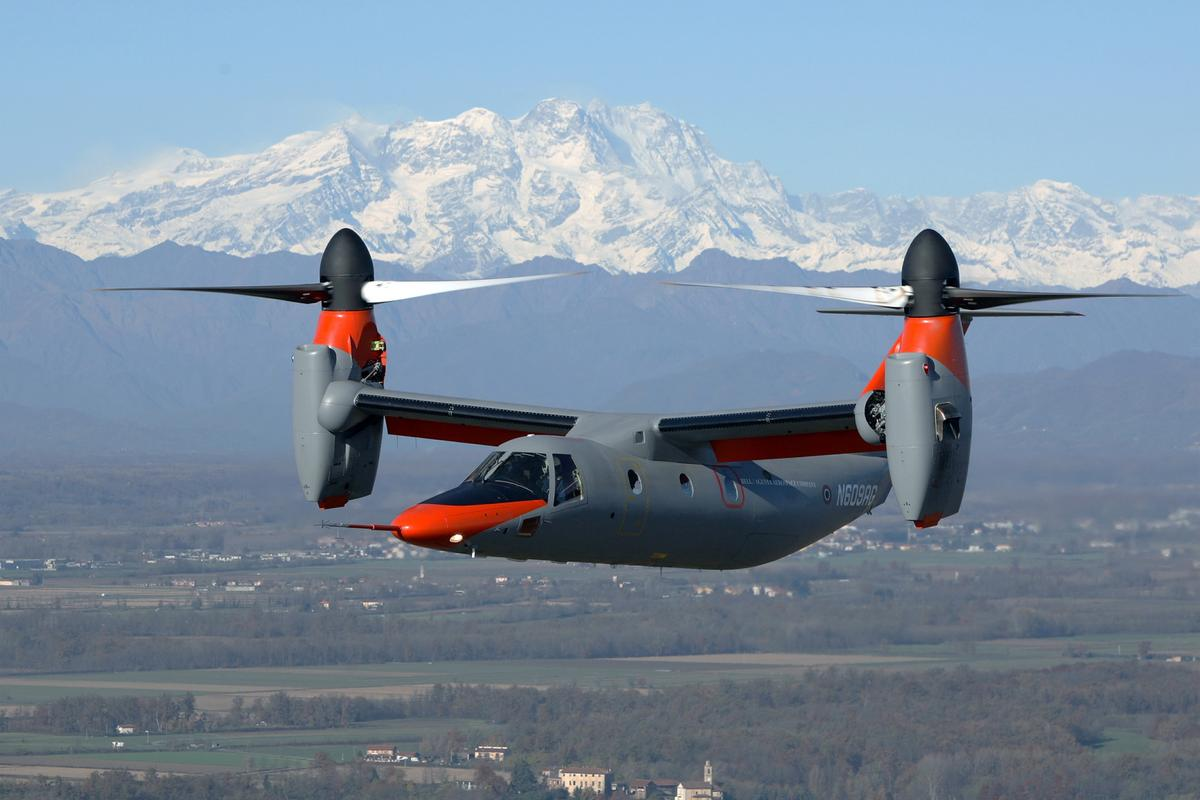 AgustaWestland has announced its AW609 tiltrotor aircraft completed autorotation trials earlier this month