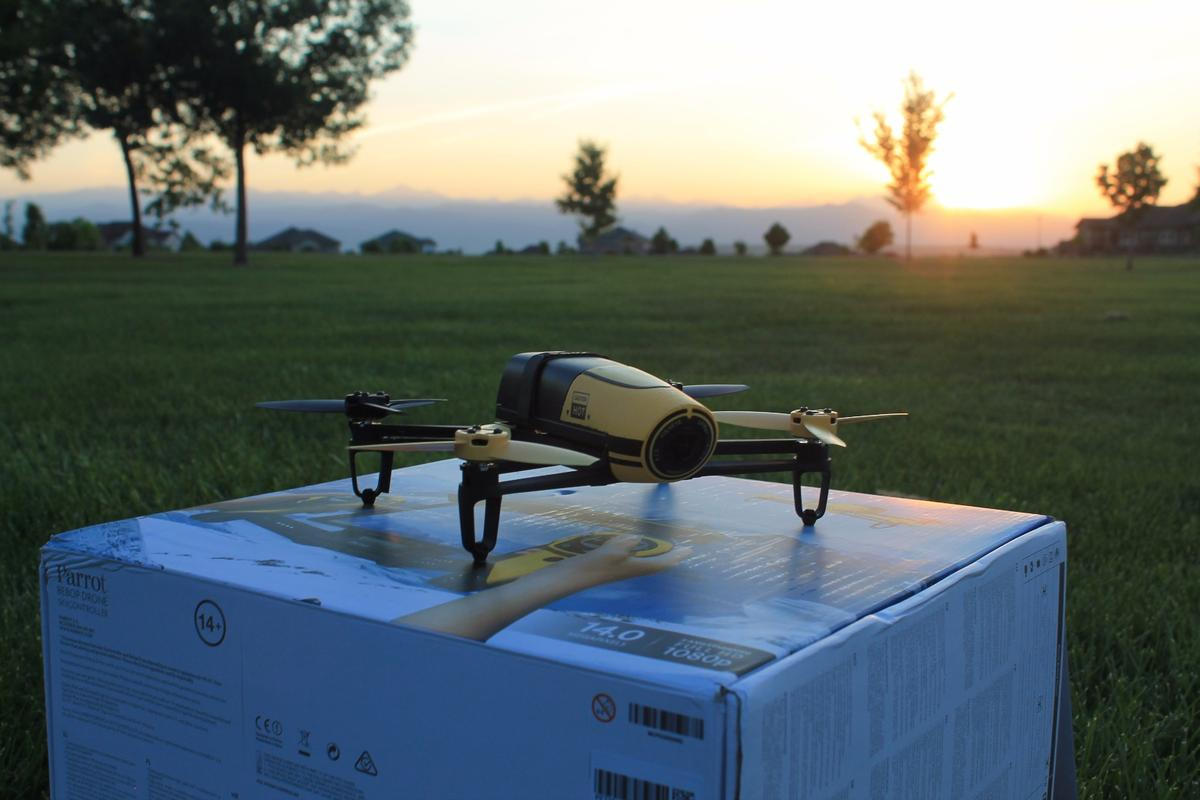 Gizmag flew the Parrot Bebop off into beautiful sunsets to test how it both handles and shoots