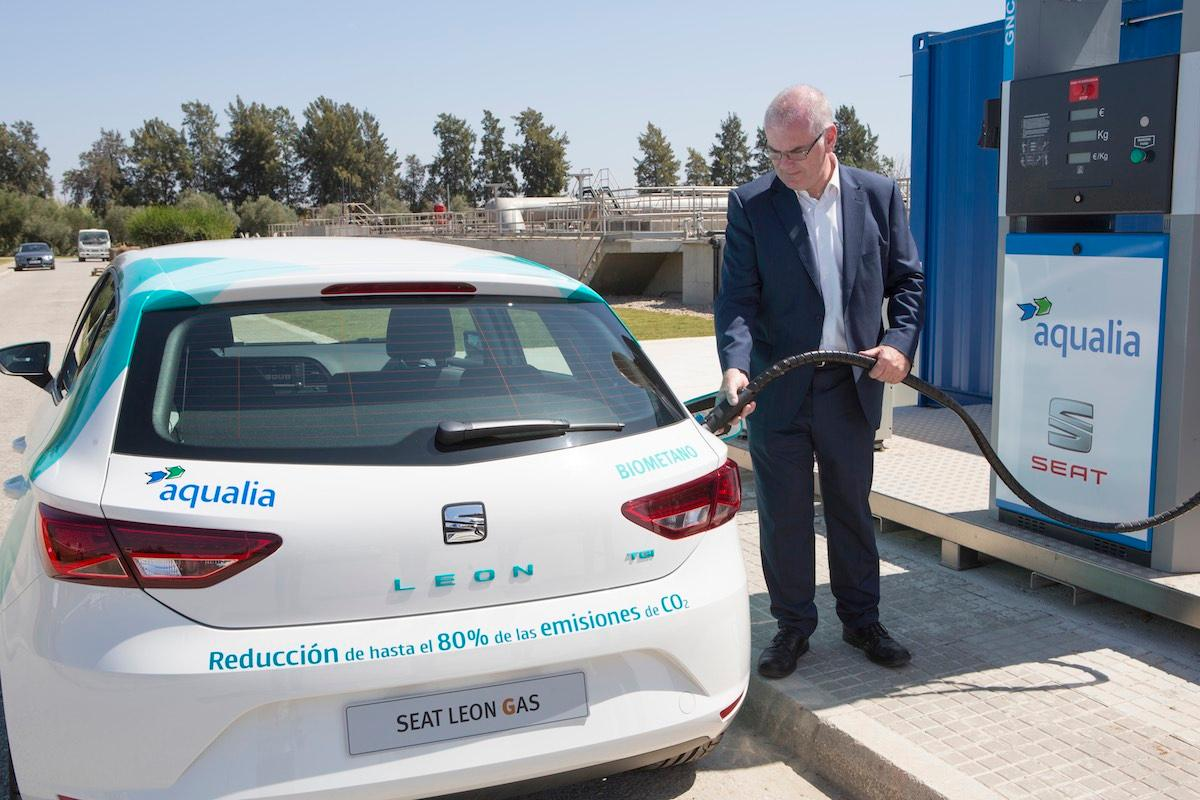 Spanish auto maker SEAT and water management company Aquila are teaming up to develop treatment plants that can create sustainable biofuels from wastewater