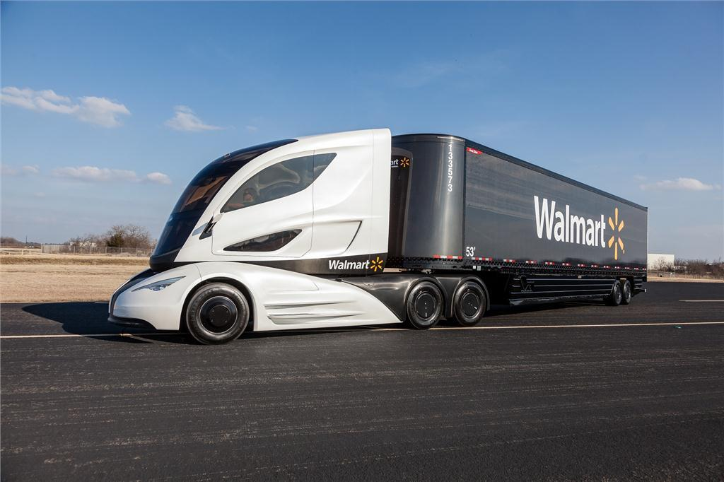 The Walmart Advanced Vehicle Experience, on the road