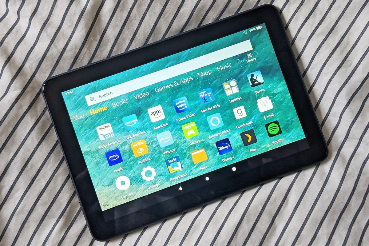 This Fire HD 8 Plus model offers slightly better specs than the standard Fire HD 8