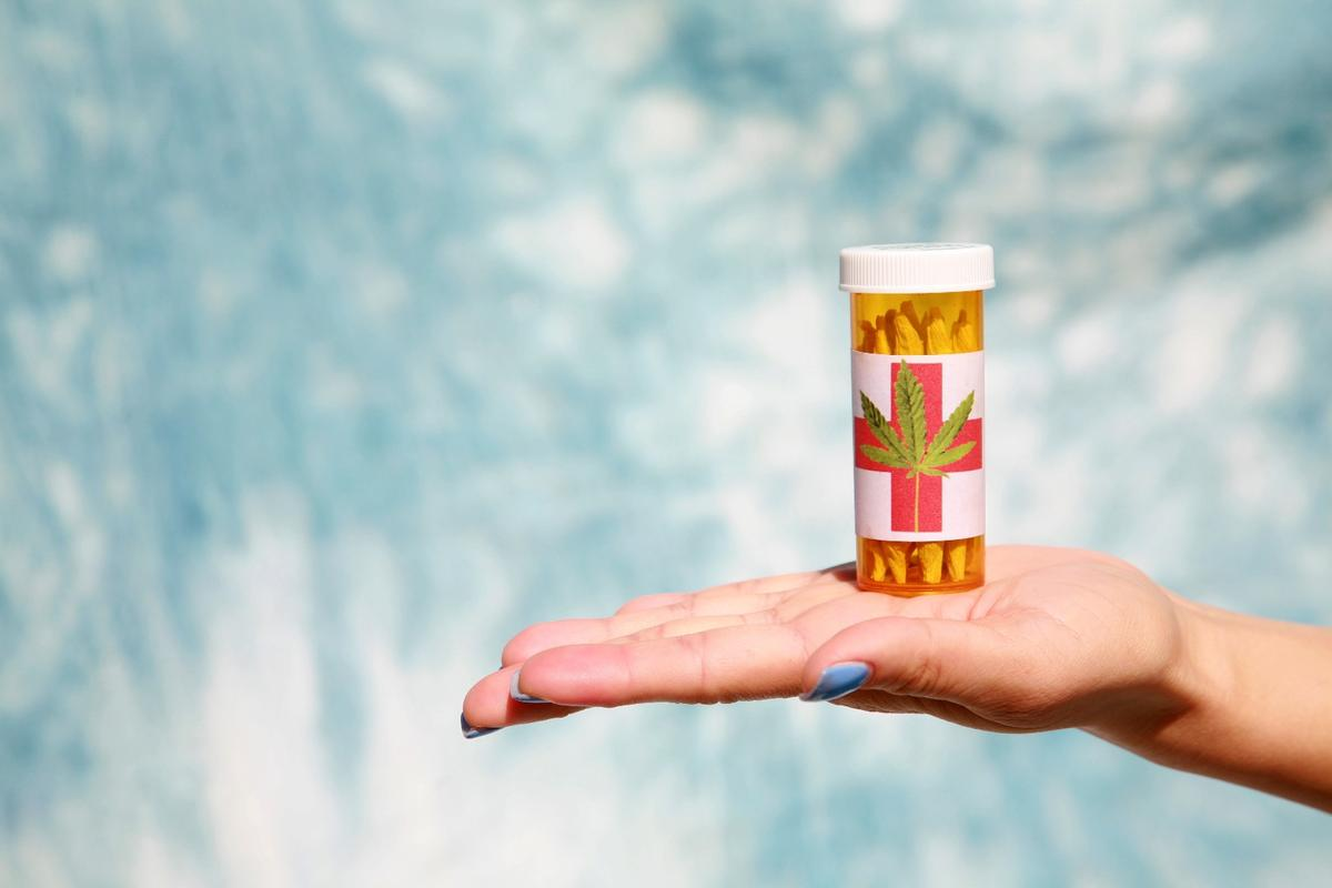 THC without the unwanted side-effects? (Credit: Shutterstock)
