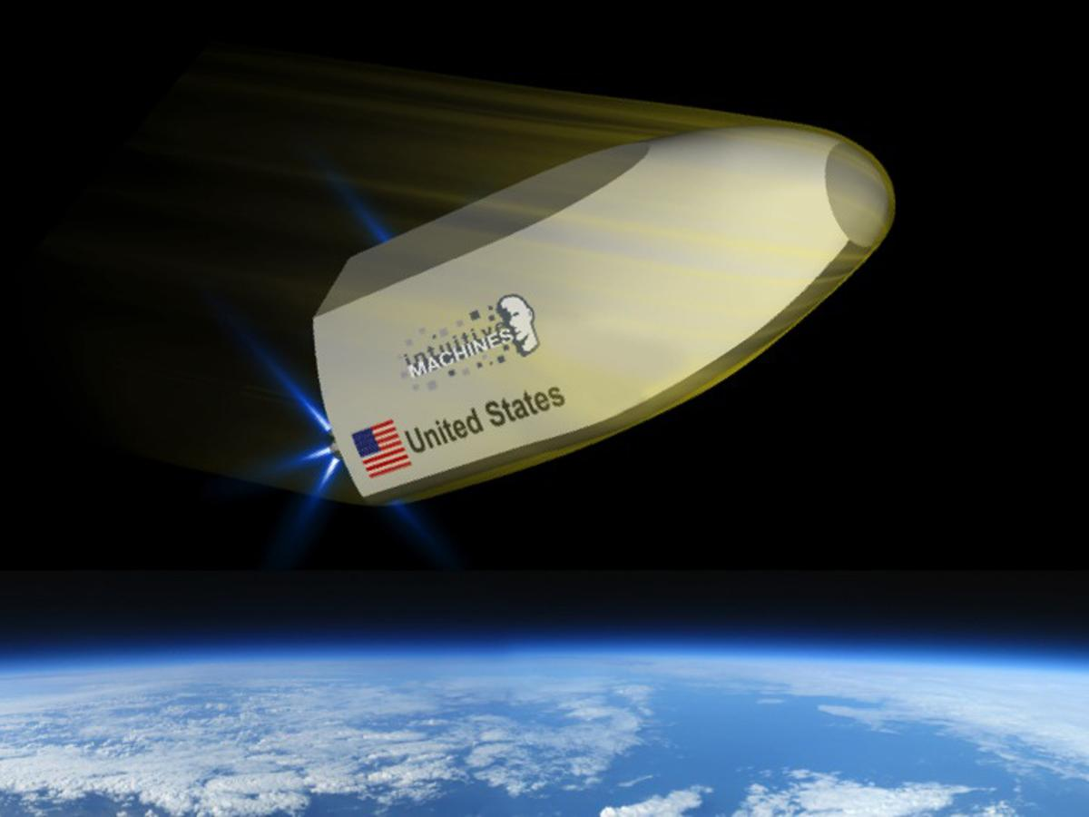 The TRV system is designed for on-demand return of small payloads from the ISS