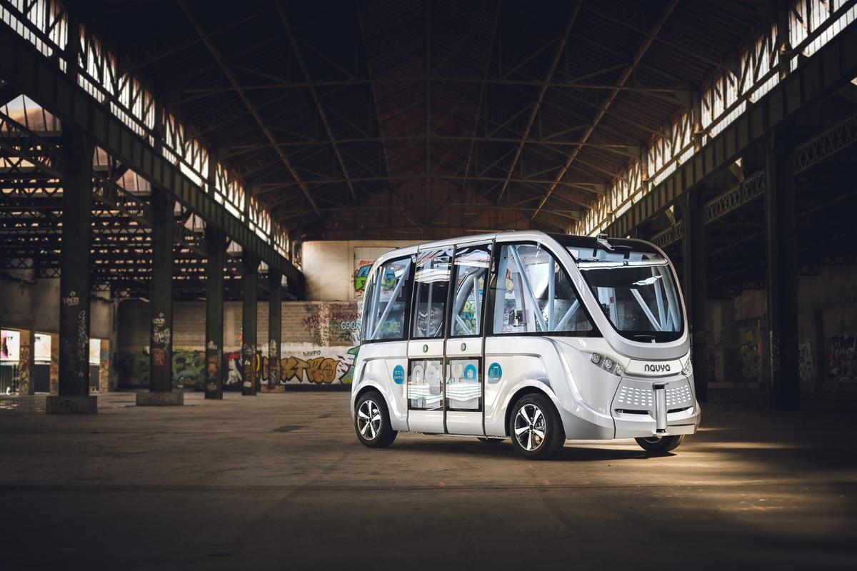 Navya Arma: a glimpse into the not-so-exciting future of autonomous vehicles