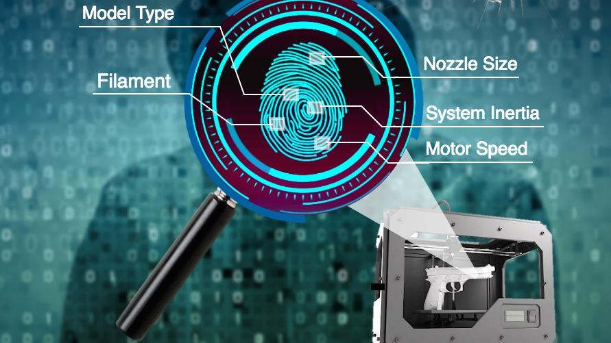 """The system establishes a """"fingerprint"""" for any one printer, based on a combination of factors"""