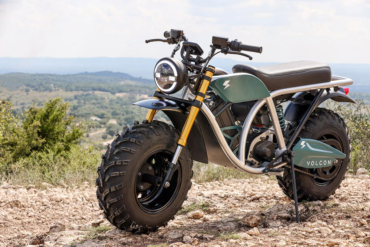 The Volcon Grunt is a practical, low-fuss electric farm bike with a name that fits its looks
