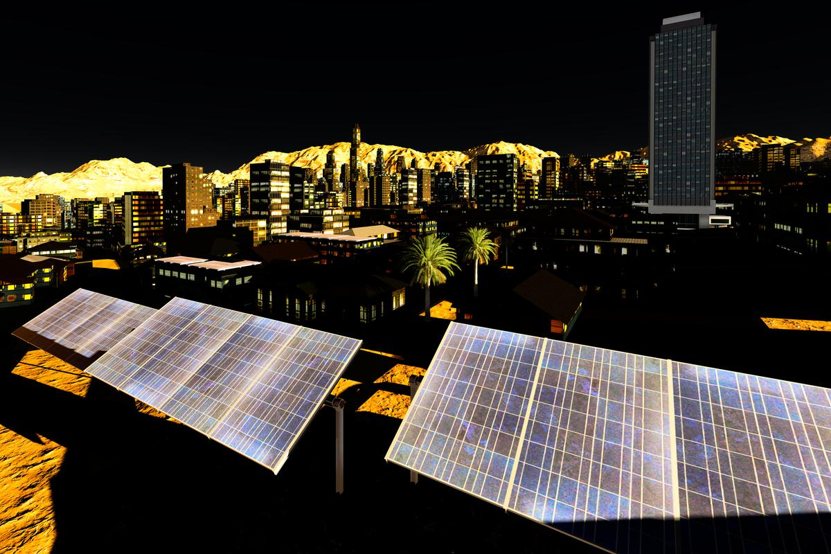 The noise of urban environments may help boost the efficiency of solar cells (Image: Shutterstock)