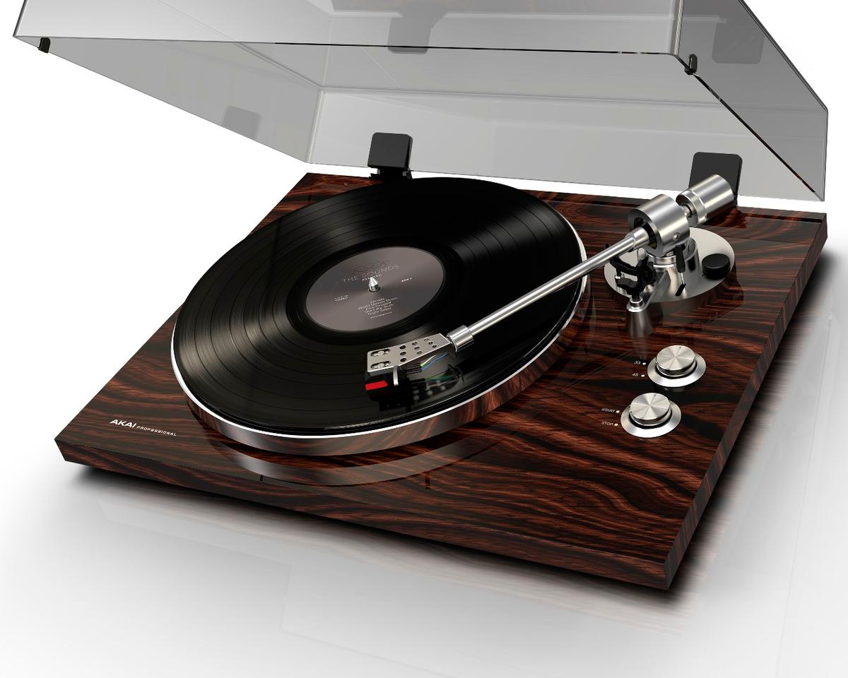 The BT-500 turntable from Akai Professional