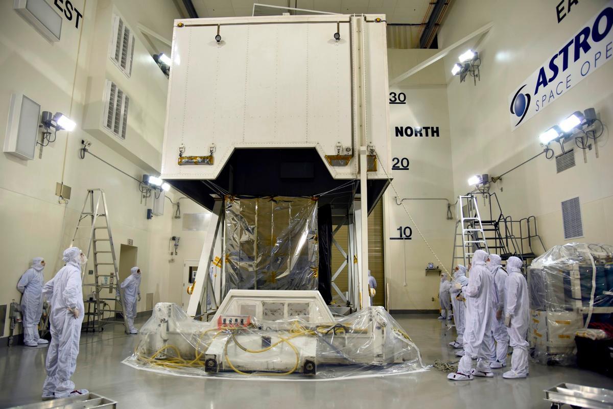 NASA's ICESat-2 undergoes preparations ahead of launch
