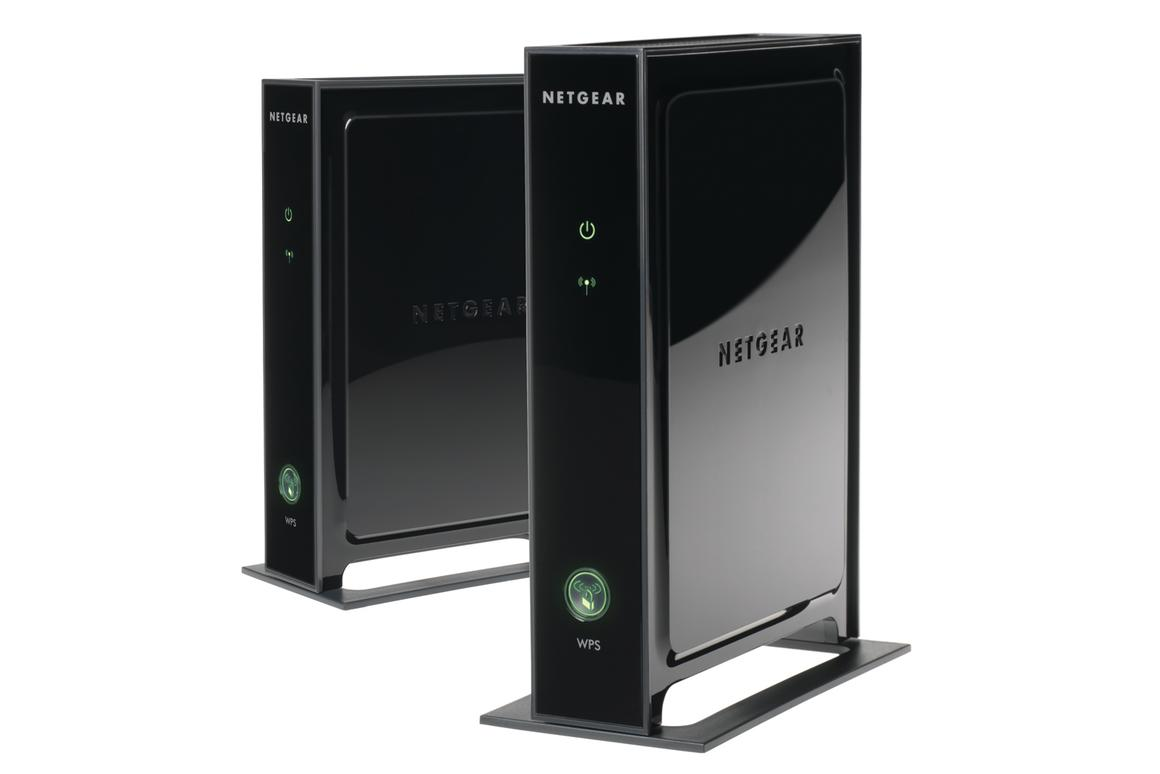 Each Netgear 3DHD adapter can be connected to a home theater device with a network port, and features four transmitters and four receivers for 4x4 MIMO connectivity