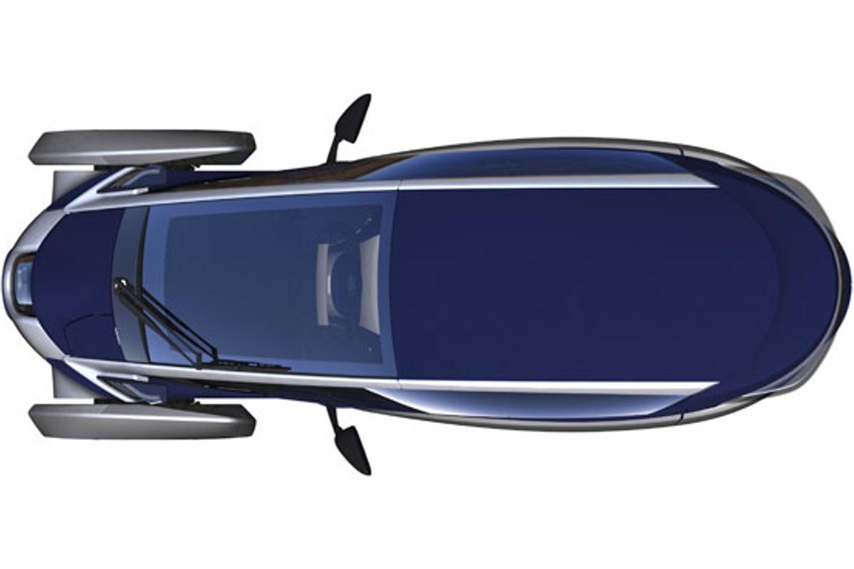 Toyota's intriguing i-Road concept EV