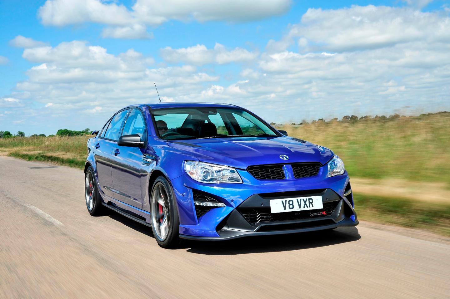 Power in the VXR8 comes from a supercharged V8