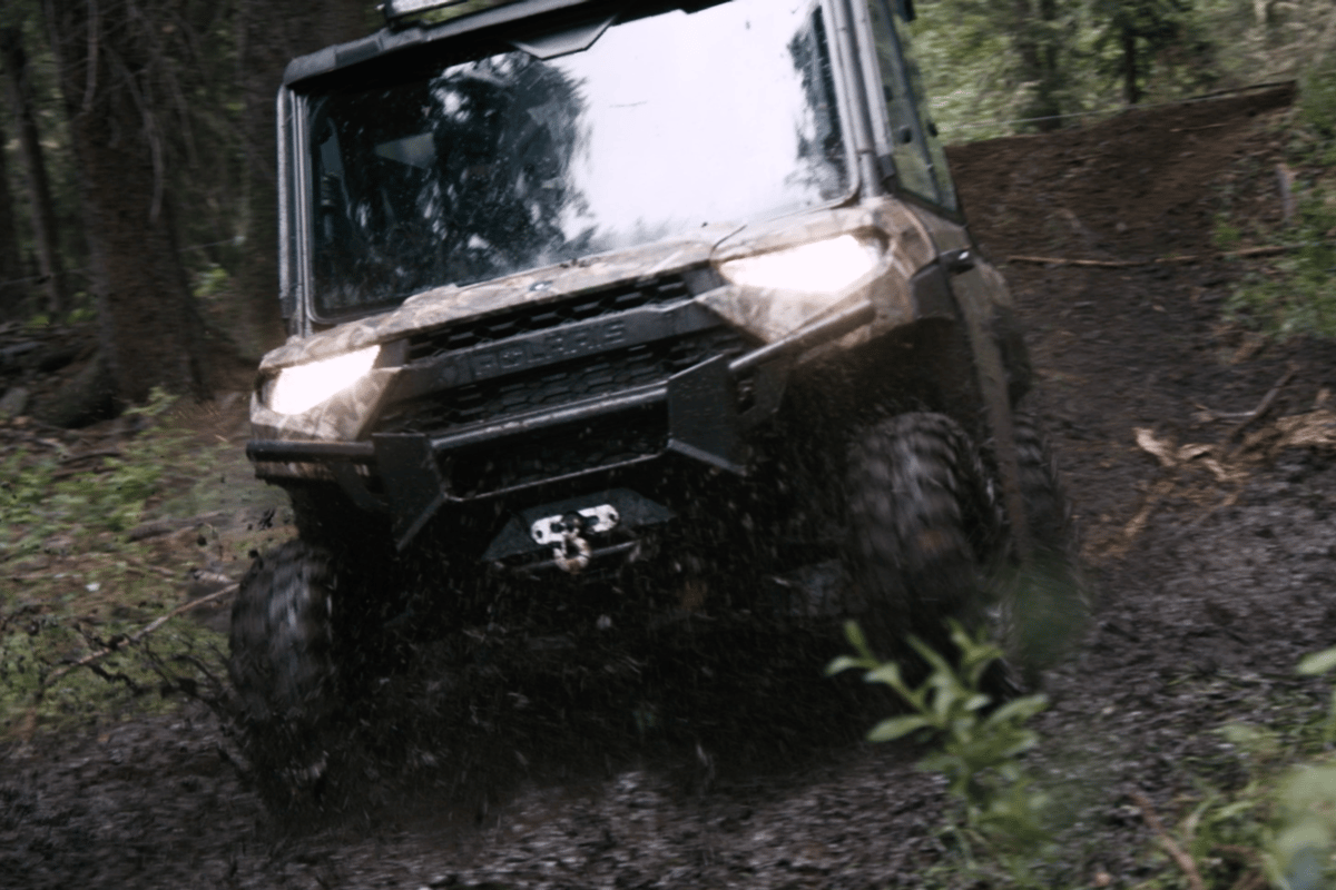 A new electric UTV is in the pipeline from Polaris, using a powertrain from Zero Motorcycles