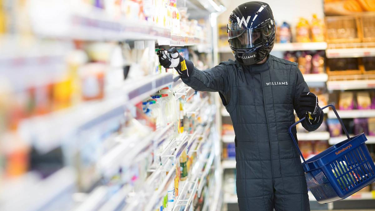 Aerofoil technology has the potential to significantly cut down supermarket energy consumption (Photo: Williams Advanced Engineering)