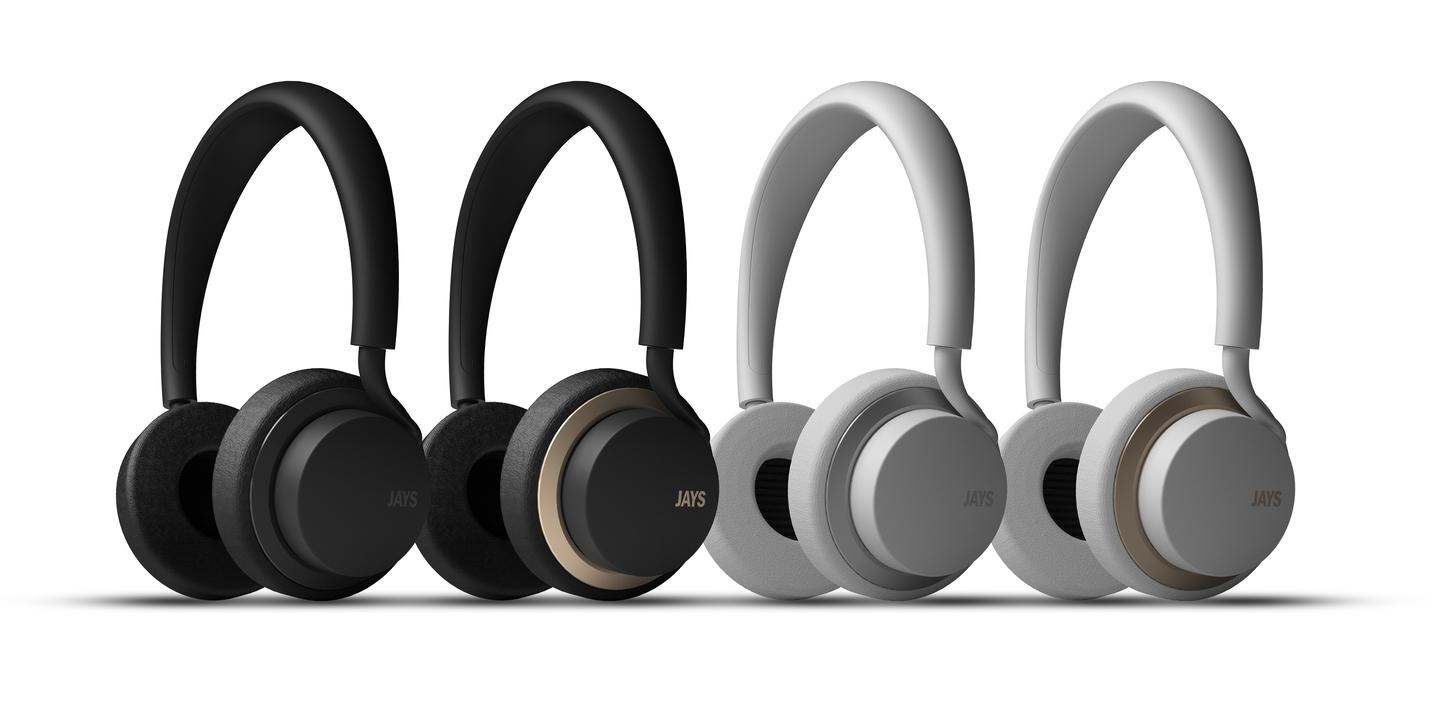 The u-Jays headphones comes in a choice of liveries