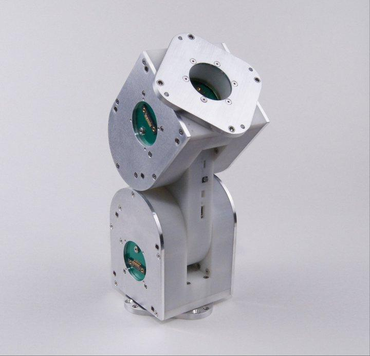 The iMobot is an articulated, wheeled robot that can be used on its own, or as a module in a larger robotic system
