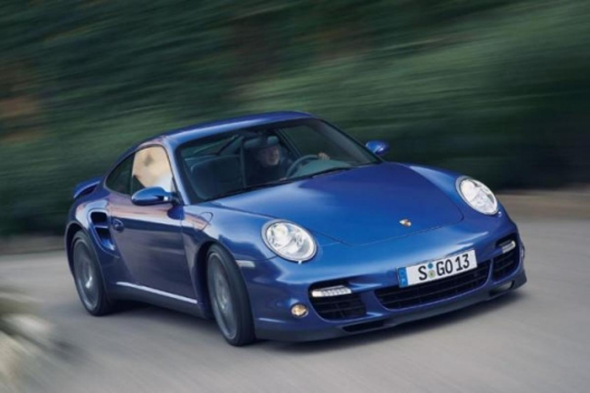 Not smart - a British driver has been clocked at 172 mph in a Porsche 911 Turbo (note: image is not the offending vehicle)