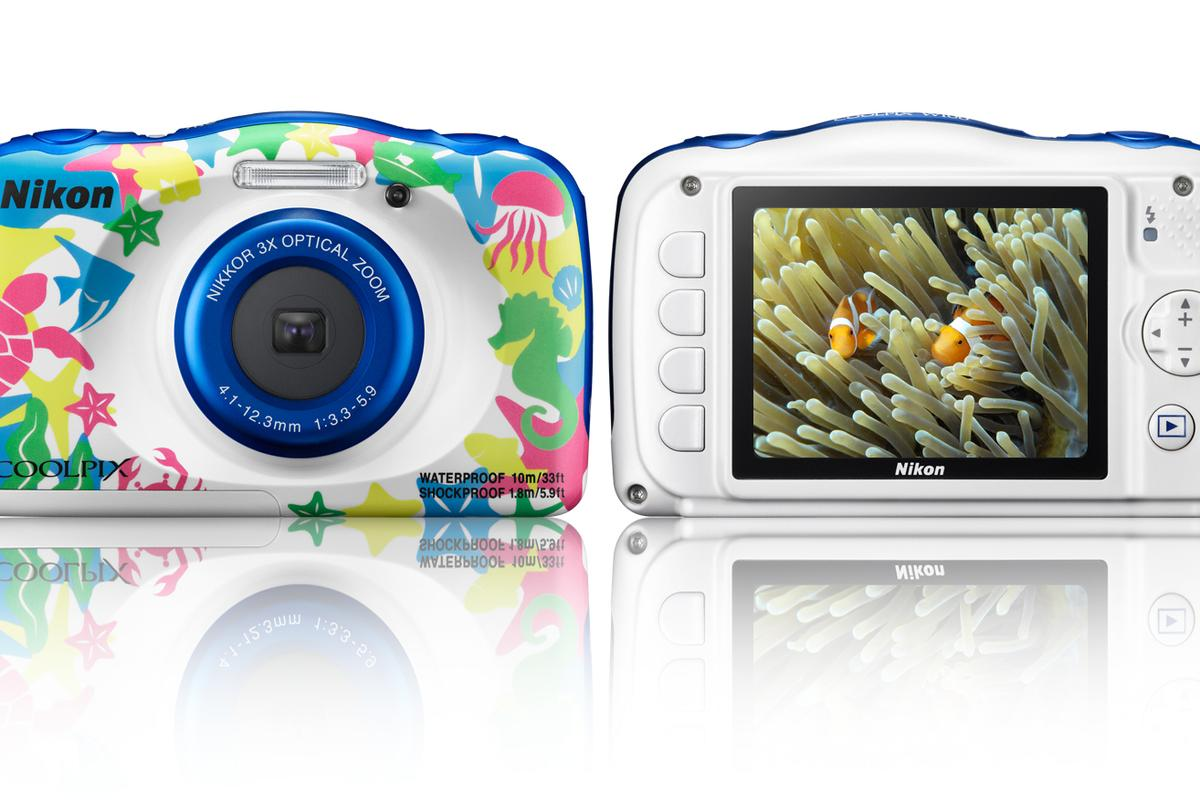 The Nikon Coolpix W100 brings wireless connectivity to the waterproof compact camera