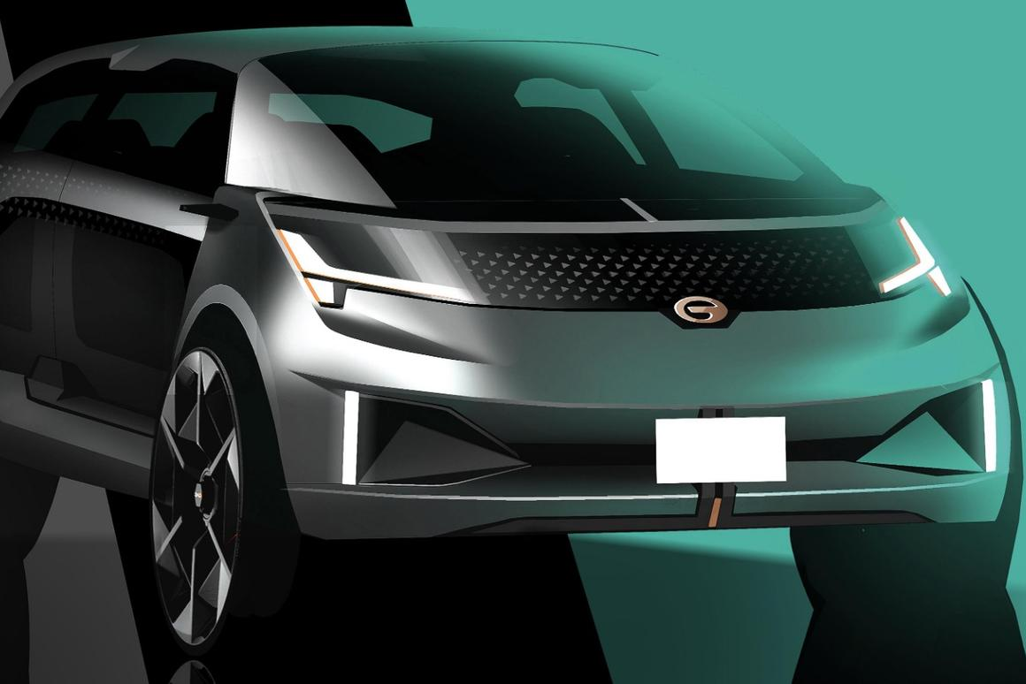 """Nothing says """"comfort""""like references to airline passenger cabins, or so the GACEntranze EV hopes"""