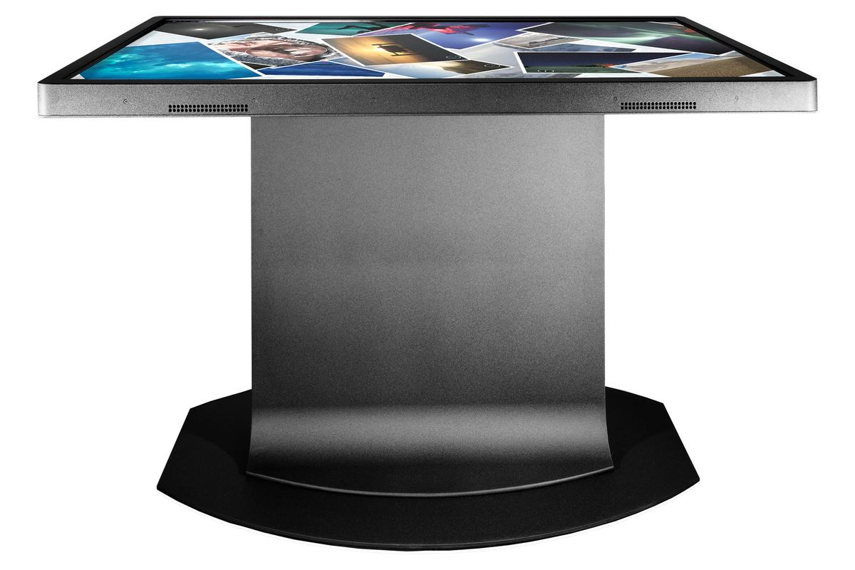 Ideum's Platform multitouch table has scratch-resistant glass