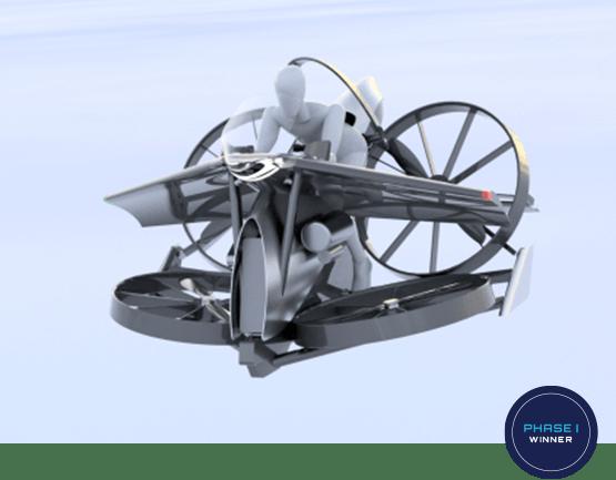 teTra 3, winner of the Pratt & Whitney Disruptor award
