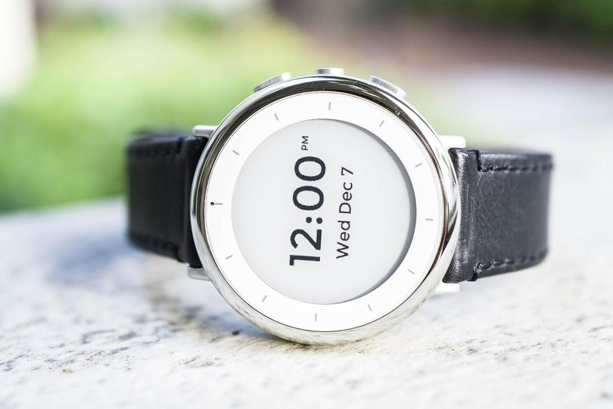 Verily's Study Watch gathers healthdata for researchers and clinicians