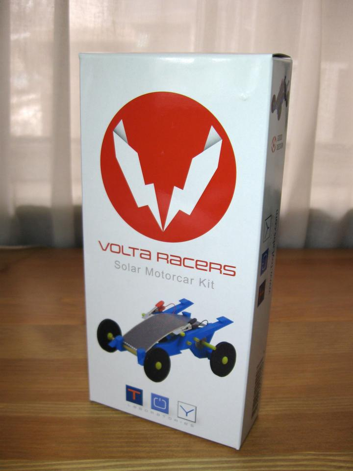 The Volta Racer as it arrived in the mail