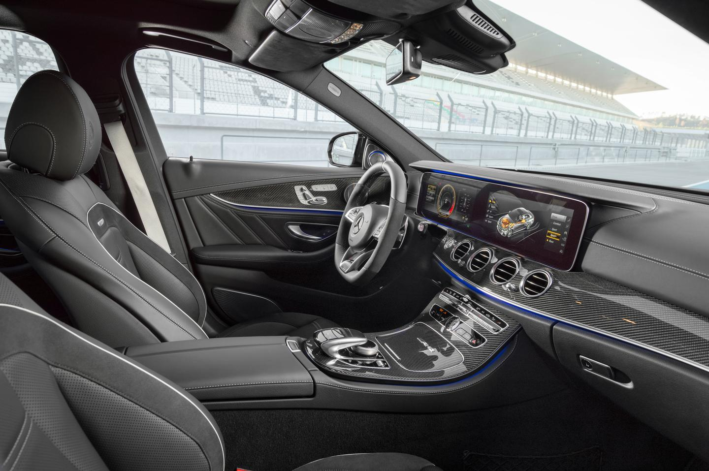 Behind the wheel of the E63 AMG 4MATIC