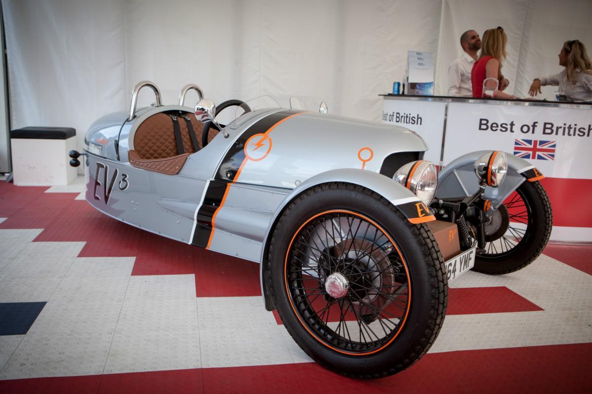 The new EV3 is under development at Morgan