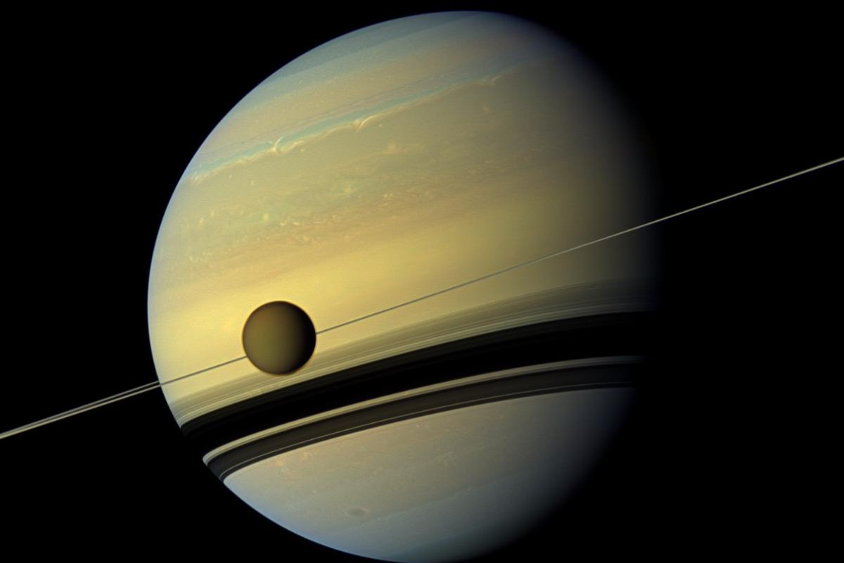 Could Saturn's largest moon Titan harbor some form of life?