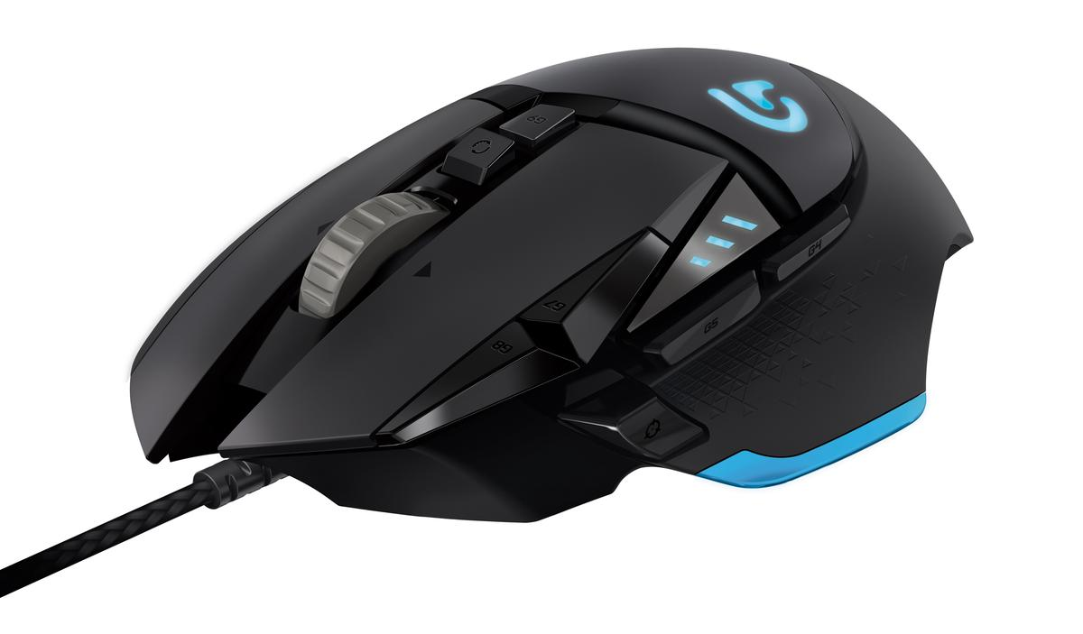 The Logitech G502 Proteus Core tunable gaming mouse
