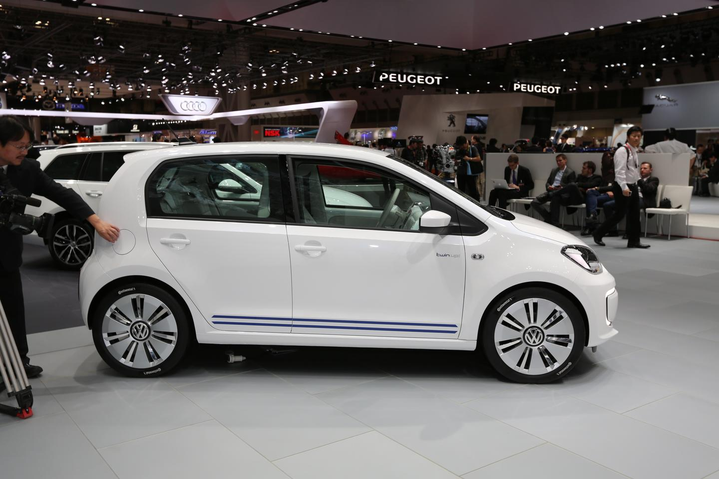 Twin Up! made its world debut at the Tokyo Motor Show this week (Photo: Mike Hanlon / Gizmag.com)