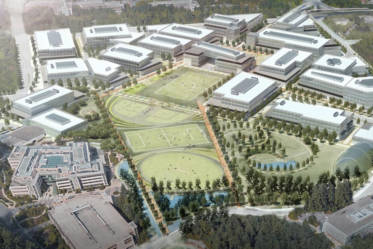 Microsoft expects its new Redmond facilities to increase employee capacity by 8,000