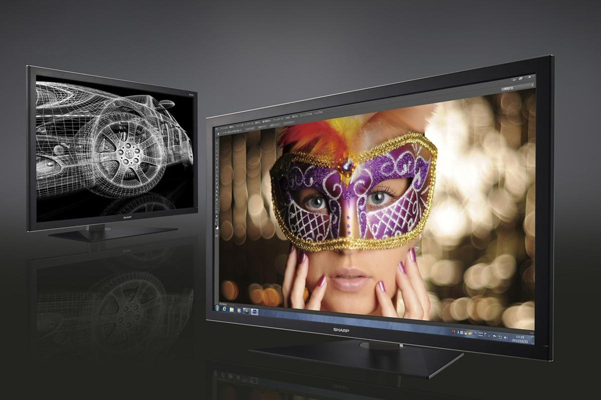 Sharp has announced the forthcoming Japanese release of a 32-inch 4K2K computer monitor